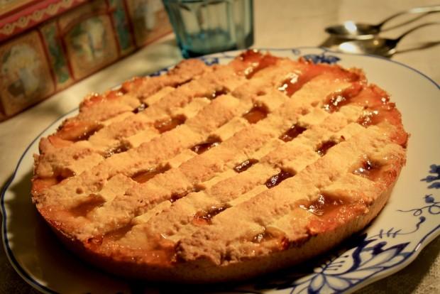 Crostata De Mermelada De Albaricoque
