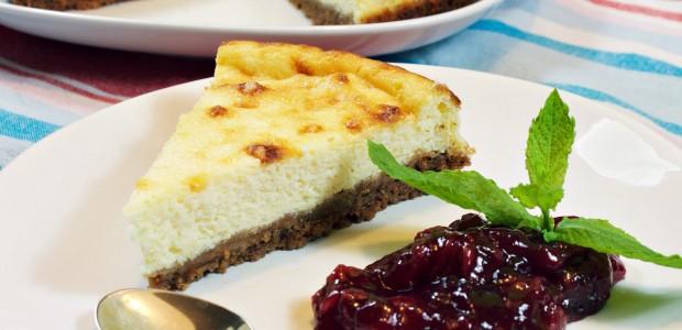 Tarta de queso ricotta ~ Dulces Recetas  ~ La ragazza col mattarello