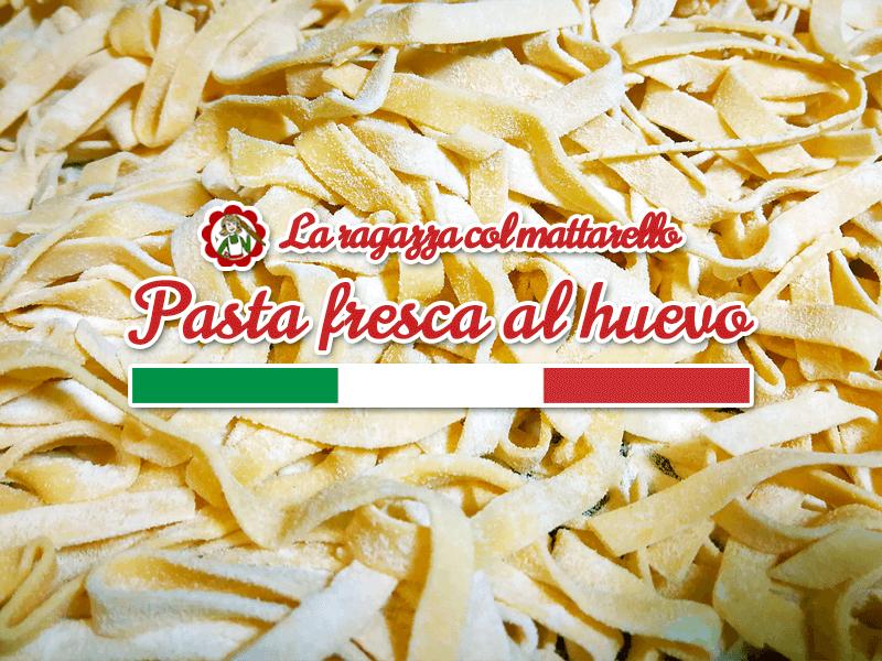 Como hacer pasta fresca al huevo: la receta original italiana paso a paso