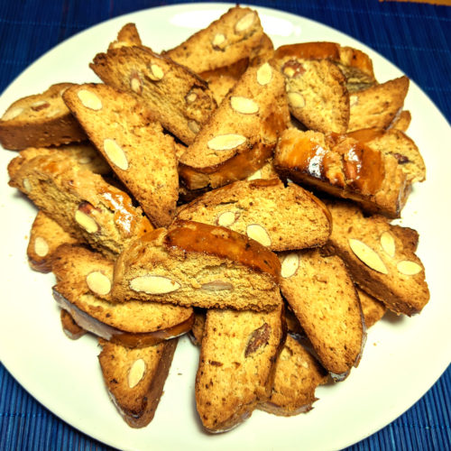 Galletas de almendra (cantucci toscani)